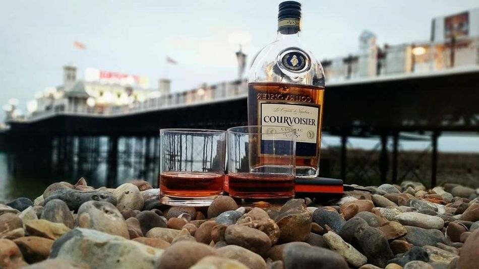 @Brighton Summer Sea Brighton Beach Seaside Birthday Friends Courvoisier Cognac First Eyeem Photo