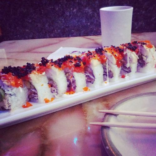 Sushi for One. Bleh.