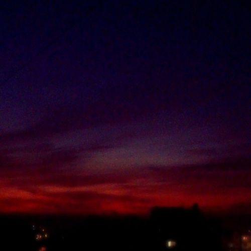 Beautiful Sunset Colors Bseba beirutcity