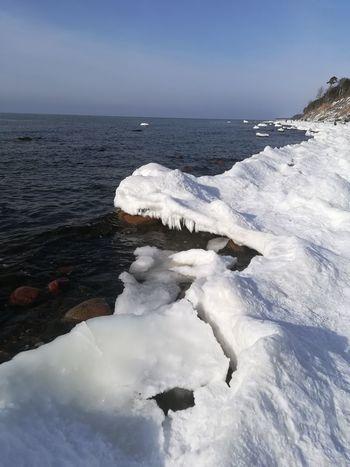 Snow ❄ Snowing Ice Sea Sunnyday☀️ Sunny Sunny Day Day