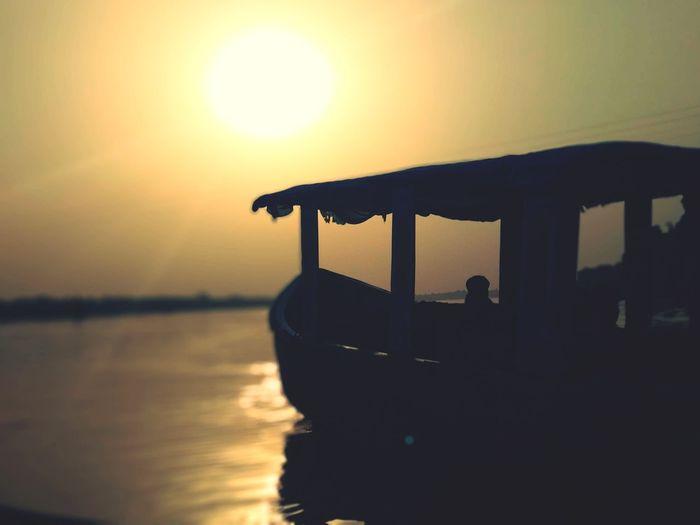 EyeEm Selects Boat Dawn Dawn Light Water Sky Water Nautical Vessel Sunset Beach Sun Reflection