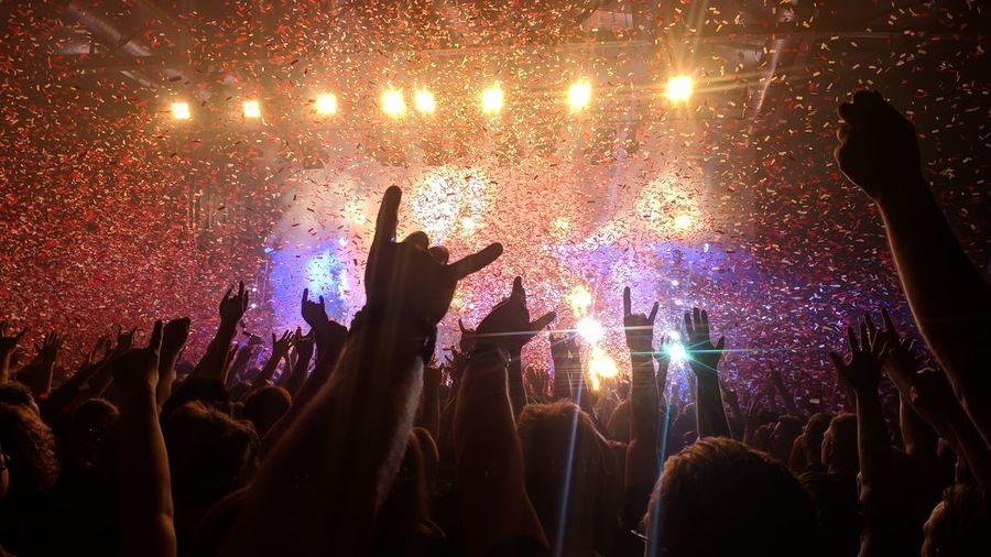 Audience Crowd Enjoyment Event Festival Music Music Festival Positive Emotion Stage Light First Eyeem Photo