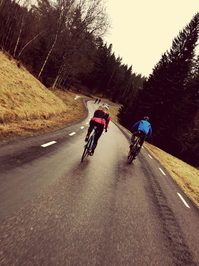 Winter in Sweden and lovely weather for roadbikeing Bikelife Winterbiking Roadbike Specialized