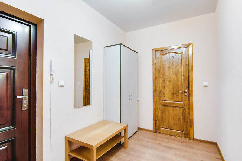 Door Entrance Home Interior Wood - Material Indoors  Architecture Building House Built Structure Domestic Room Modern Wall - Building Feature No People Home Flooring Wood Doorway Empty Home Showcase Interior Mirror Luxury