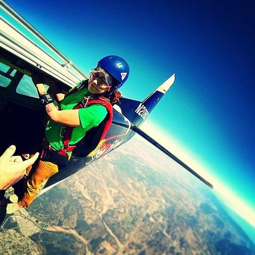 My favorite place to stand. Skydive SkydiveSantaBarbara SkydiveOrDie SkyChurch HappyClam