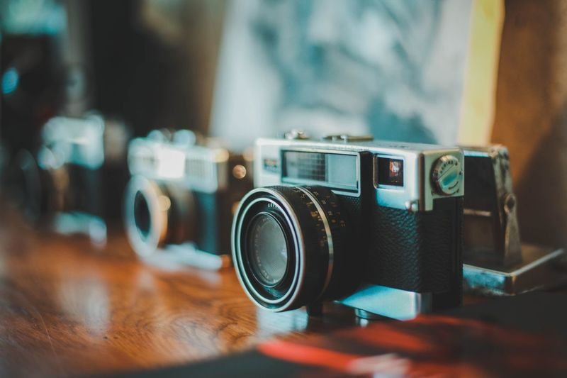 vintage in your home Vintage Photography Themes Technology Camera - Photographic Equipment Old-fashioned Retro Styled Antique Close-up