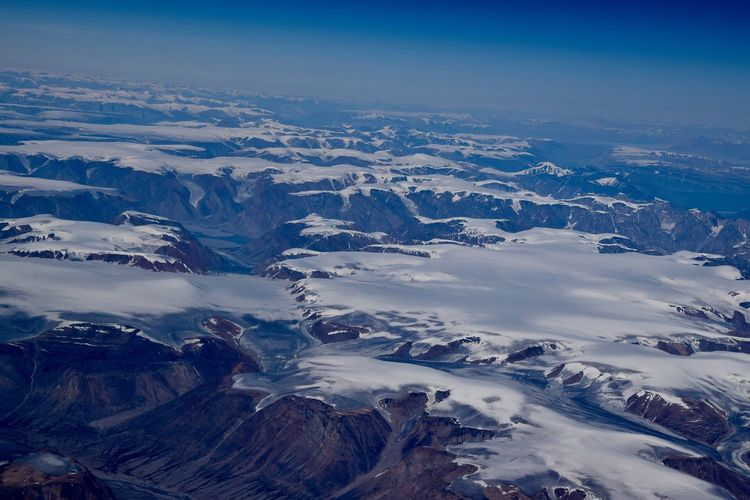 Greenland Aerial View Beauty In Nature Glacier Landscape Nature No People Outdoors Snow