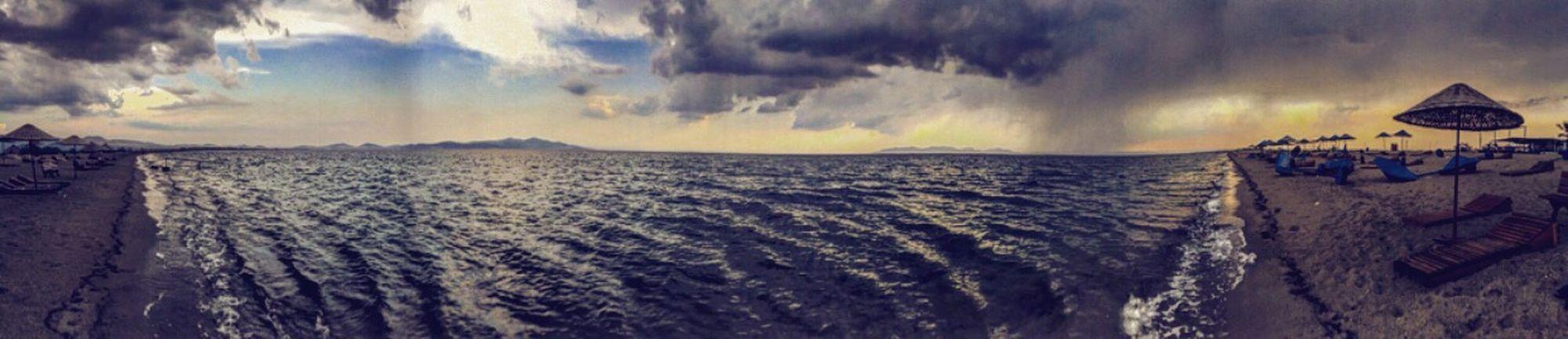 Panorama Panoramic Pan Sea Cloud Cloudporn Nature Izmir Natural Beauty