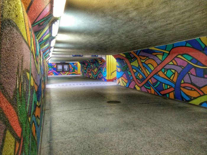 Underground Painting Train Station