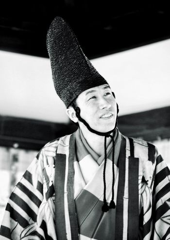 Kabuki Actor Portrait Portraiture; B/W Photography Black And White Photography Japan EyeEm Best Shots - Black + White Japan Photography Japanese Style Japanese Culture