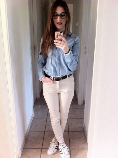 That's Me Girl Frenchgirl Ootd Hotlook Glamour French