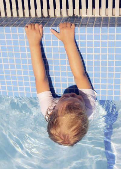 Rediscovered moments High Angle View Childhood Child Swimming Pool One Person Full Length Day Vertical Real People Outdoors People Hollywood Children's Portraits Swimming Florida Blue Full Frame Canon Macro Photography Little Things Abstractions