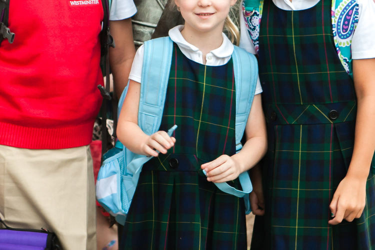School Uniform Around the World School Uniforms Around The World #huffpost Real People Low Section Lifestyles Innocence Friendship Childhood