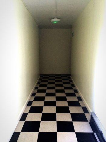 Dead ends 15-04-2015 Dead Ends Blackandwhite Check Hallway Creepy Scary Dark Perspectives Urban