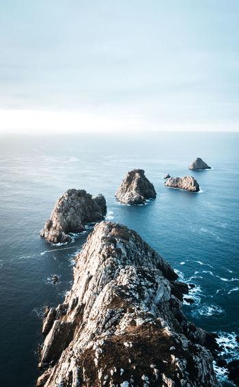 Land's end Sea