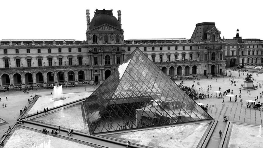 Paris.2.0. Louvre Architecture Built Structure Building Exterior History Day Outdoors Sky No People
