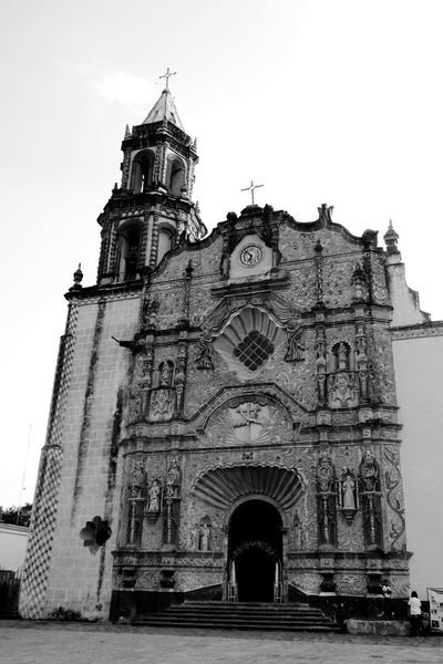 Church Architecture Church Tower No People History Architecture Religion Misiones México Catolic Church Jalpandeserra Blackandwhite Blackandwhite Photography