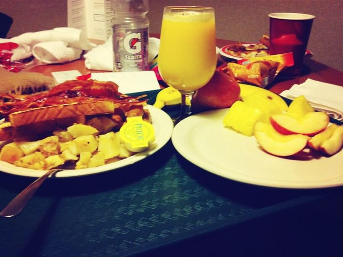 Breakfast Of Champs Literally!!!
