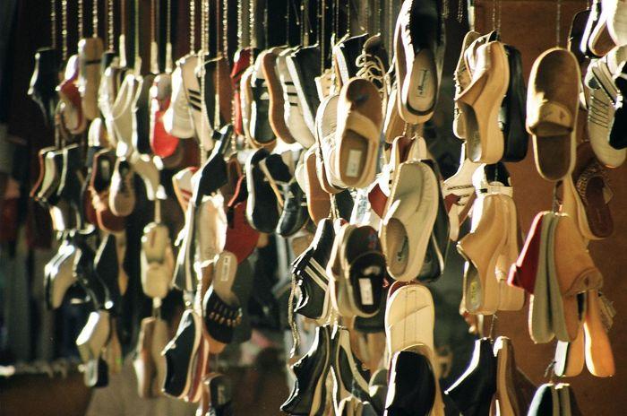 Abundance Shoe Shop Shoes Shopping Train Trainers