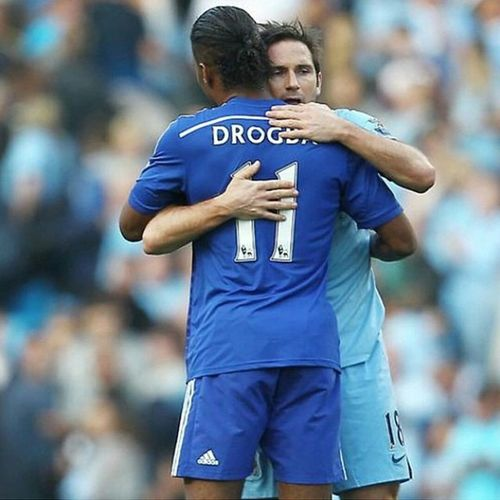 This man... Showed again why he's my idol!!! True gentleman true leader true professional true scorer true blue!!! Good luck to you Legend!!!!! - Re-gram from @didierdrogba. All of your fans proud to both of you, especially Me! So proud of The Blues! KTBFFH Keeptheblueflagflyinghigh