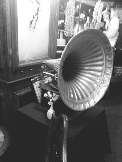 Gramophone Restaurant Antique Argentina Buenos Aires