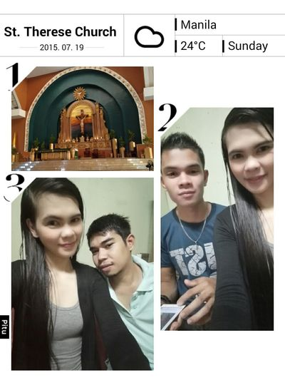 Sunday Mass Withlove❤️ Withbrother Attendingmass Praying Groupselfie