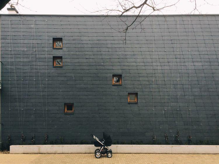 ::: Black Wall Modern Architecture Stroller Minimalism Minimalobsession Warsaw