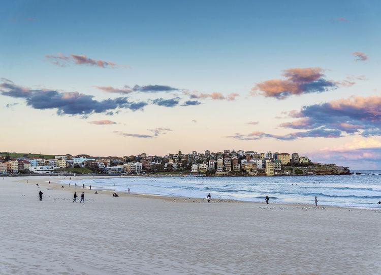 Bondi beach near Sydney Australia Australia Australian Austria Bondi Beach Sydney Beach Sydney, Australia Tourist Attraction  View Australia Beach Australian Beach Beach Coast Day Destination Scenics Landscape Scenics Sea Sydney
