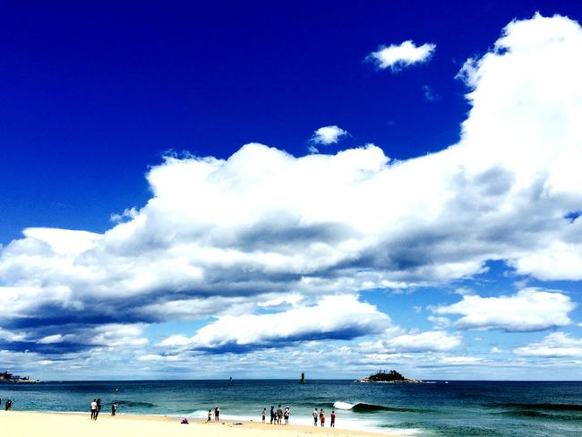 Travel Sea Sky Blue Sky Seaside Summer2015 Nature Great View Sky And Clouds