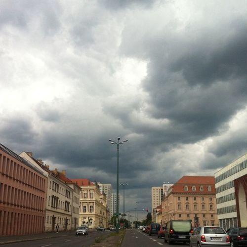 Potsdam empfängt passend zur #Cloud2011 Cloud2011