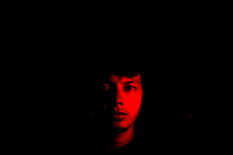 Red Black Background Studio Shot Human Body Part One Person One Man Only Only Men Adults Only People Red Light Adult Human Hand Close-up Indoors  Performance Indoors  People Photography Perspective EyeEm Gallery Selfie Portrait Adults Only Sefl Portrait ArtWork Tilt-shift Muslim❤️ Uniqueness