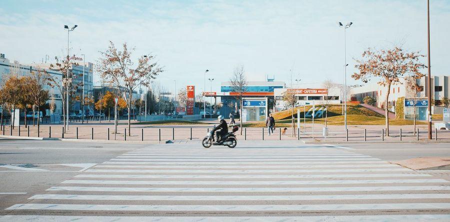 Passing by // Vscocam VSCO Fuji X100s FUJIFILM X100S X100S Streetphotography Street Photography Streetphoto_color Crosswalk Motorcycles
