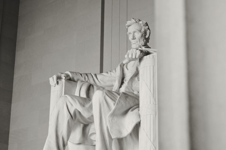 Patriotism Abe Lincoln United States History Sights Favorite Photo EyeEm Best Shots Abraham Lincoln Statue Washington DC History Architecture Black And White Photography