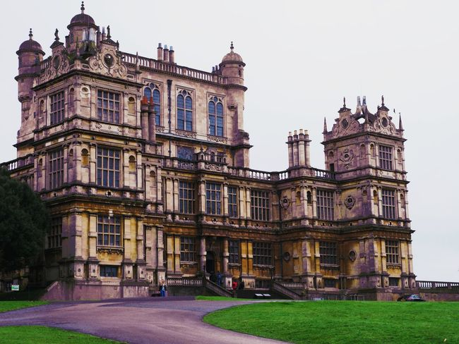 Architecture Building Exterior Mansion Wollaton Hall Dark Batman Shadow Rich Outdoors No People First Eyeem Photo Let's Go. Together.