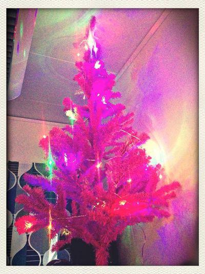 Julpynt på kontoret