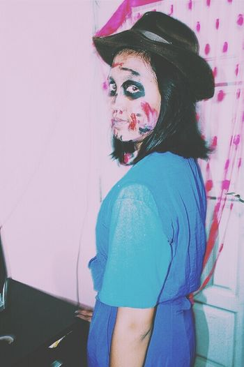 Creepy Face Creepy Sister Halloween Makeup EyeEm Gallery