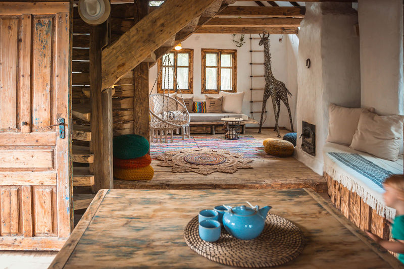 Dream house interior design rustic