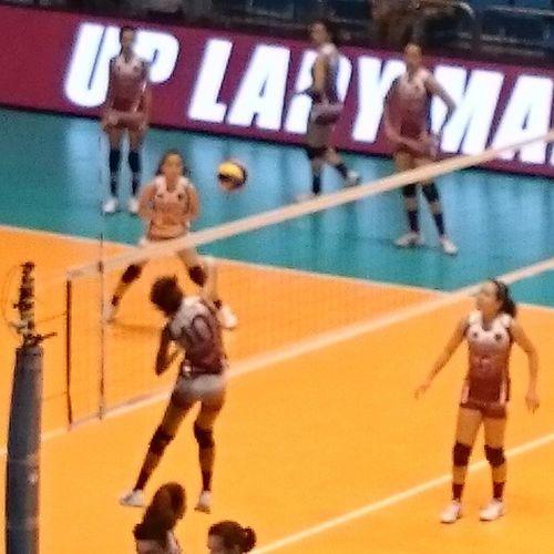 Go Tiamzon!!! Upfight UAAP Volleyball