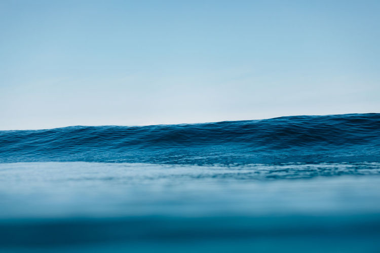 horizonte Sea Sky Clear Sky Blue Water Scenics - Nature Wave Motion Horizon Beauty In Nature Horizon Over Water Aquatic Sport Tranquility Nature No People Tranquil Scene Day Outdoors Nature Nature_collection Surf EyeEm Best Shots EyeEmNewHere EyeEm Nature Lover EyeEm Gallery