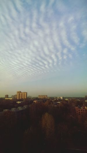 Reutov Autumn Sky