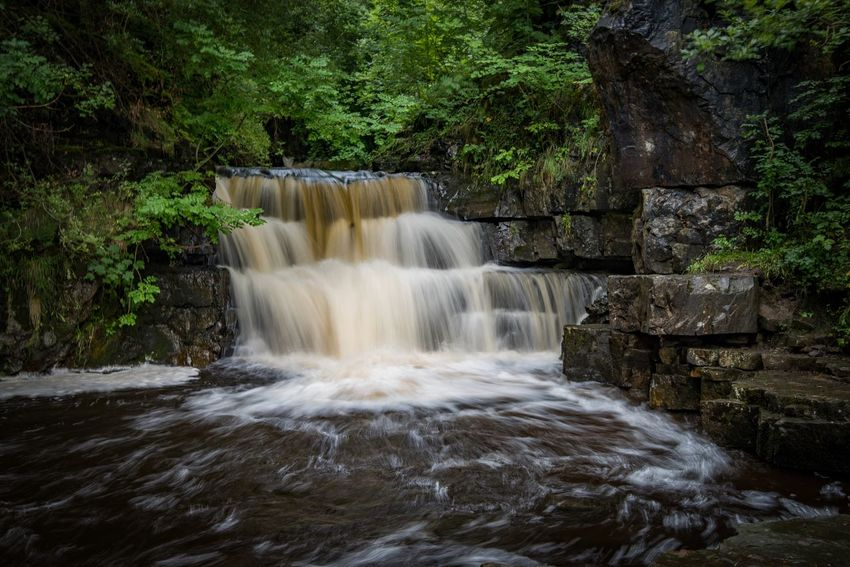 EyeEm Best Shots Eye4photography  Countryside Waterscape Waterscape Nature Photography Water Waterfall Tree Scenics - Nature Beauty In Nature Motion Plant Outdoors Long Exposure Flowing Water Forest Rock Flowing Power Blurred Motion