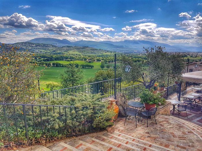 View from La Bastiglia Hotel, Spello The Great Outdoors
