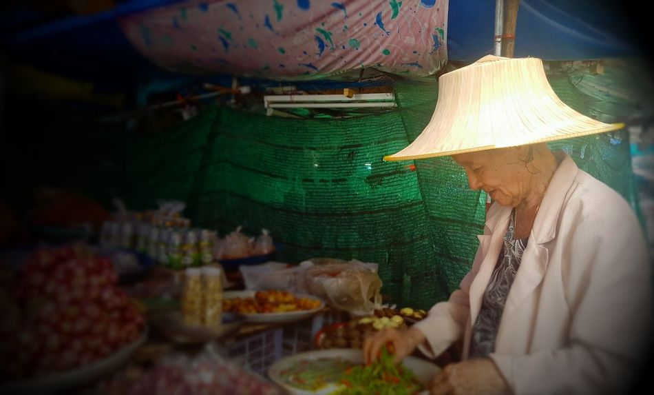 The Chili Lady of Old Phuket Town Adult Adults Only Day Food Food And Drink Freshness Indoors  Market Men Occupation One Man Only One Person Only Men People Phuket Old Town Real People