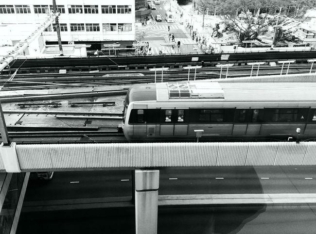 MTR Hong Kong Blackandwhite Photography Cityscapes Railways
