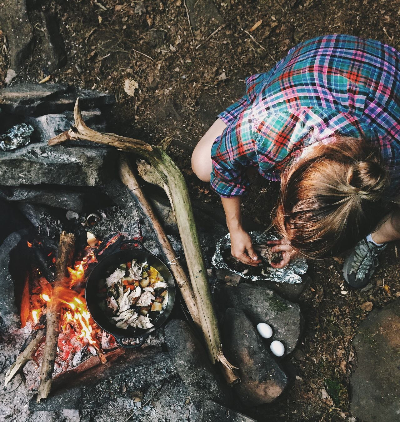 Beauty,  Bonfire,  Camping,  Cooking,  Day