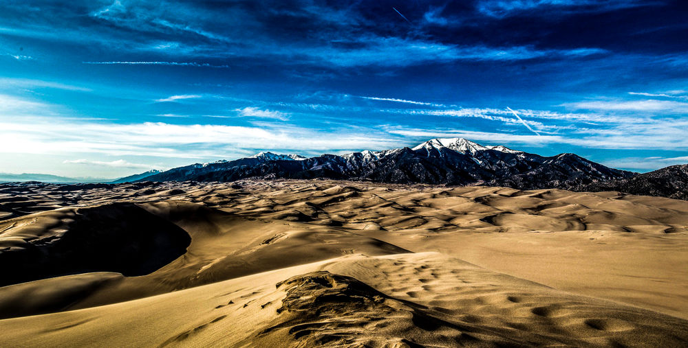 Beauty In Nature Cloud - Sky Extreme Terrain Geology Landscape Mountain Mountain Range Nature Physical Geography Remote Sand Dune Scenics Sky Tranquil Scene Tranquility Wilderness Area