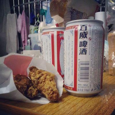 我的炸鸡和啤酒