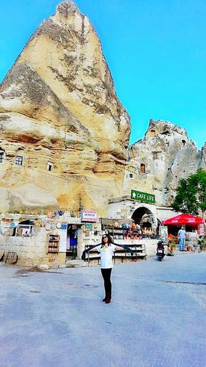 Cappadocia/Turkey Travelincavehotel Check This Out That's Me World Traveller Travel Photography Enjoying Life travel by stoneland turkey travel agency Beautiful Nature Goreme Open Air Museum Turkey ♡