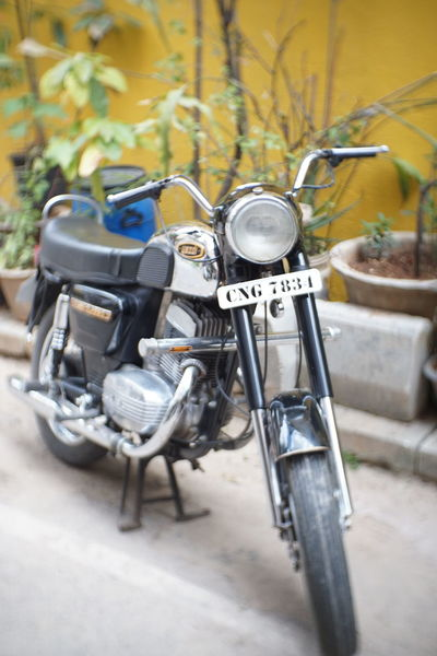 Yezdi - 2 Wheels 4 Life - Motorcycle Classic Nofilter Chaosnaut Sony A6000 Fotasy35mm Yezdi Motorcycle Motovlog 2Wheels Classic Bike Classic Motorcycle Vintage Vintage Motorcycles Motorcycle Photography EyeEm Selects Bicycle Stationary Close-up Motorcycle Biker