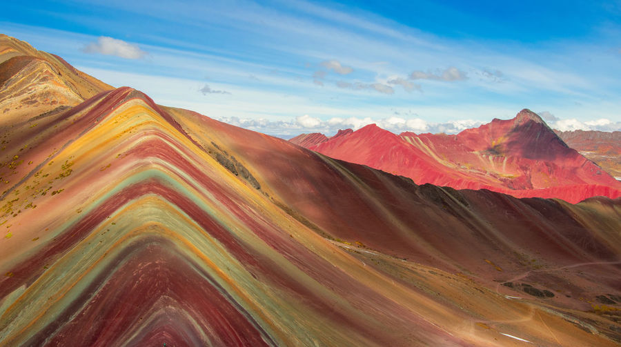 Rainbow mountain - vinicunca, peru